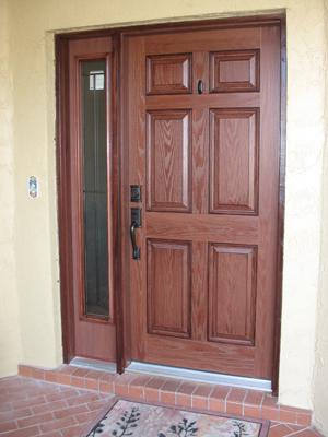 Plastpro Woodgrain Door With Odl Craftsman Style Madison
