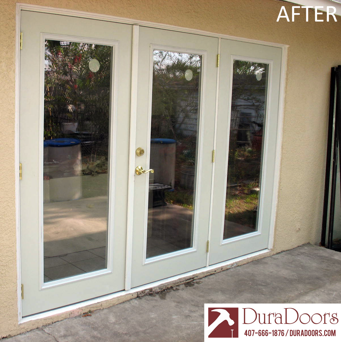 Glass French Doors : French doors with low e glass duradoors